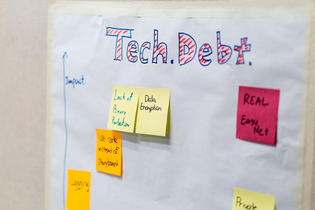 How to Maintain Low-risk Technical Debt Using Analytics