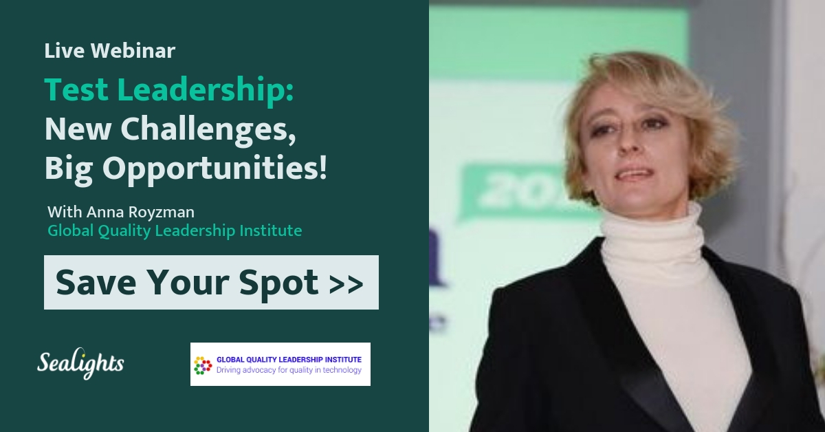 Test Leadership of the Future: New Challenges, Big Opportunities